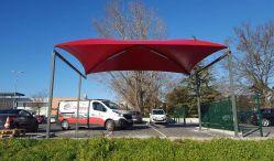 Abri zone location véhicules