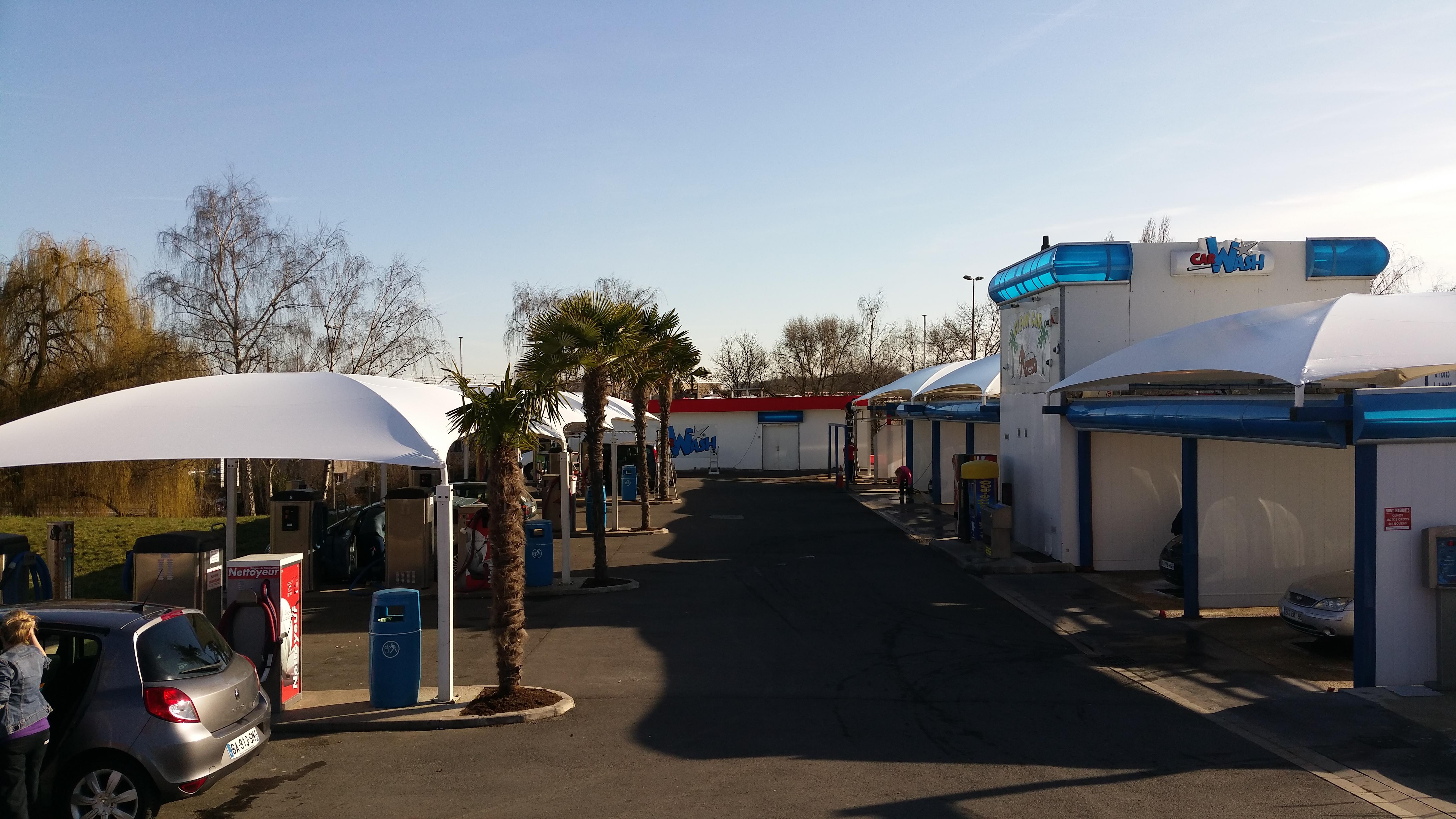 Station de lavage CLEAN CAR (95460 EZANVILLE)